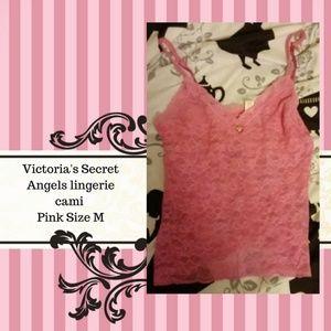 Victoria's Secret Angels lingerie cami Pink Size M